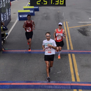 Michael D. (125th overall) at the Los Angeles Marathon (2016)