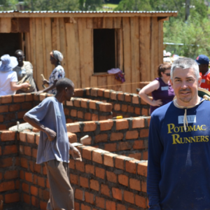 Bill with Habitat for Humanity in KENYA (2012)