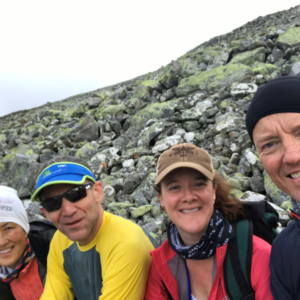 Kim, Anthony, Leanna, and Egil on another beautiful day in NORWAY (2017)